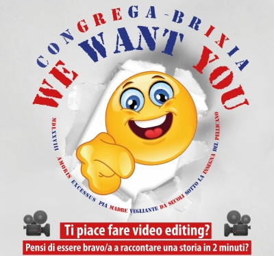 WE WANT YOU! Una bella opportunità per i più giovani